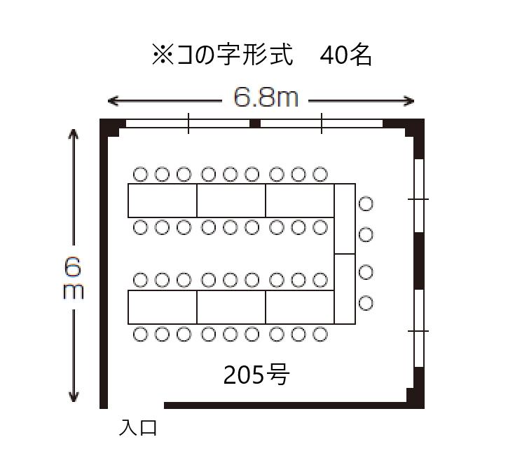 205 コの字形式(新)